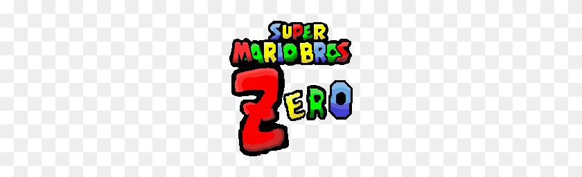 Super Mario Bros Zero Super Mario Logo Png Stunning Free