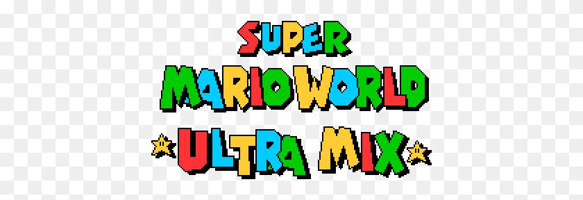 Super Mario World Ultra Mix Smbx - Super Mario Logo PNG – Stunning