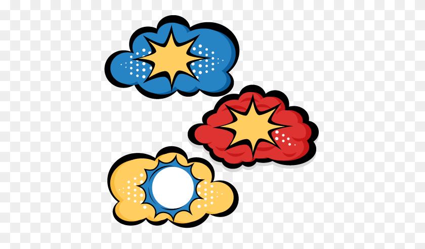 Superhero Clouds Cutting For Scrapbooking Superhero - Superhero Silhouette PNG
