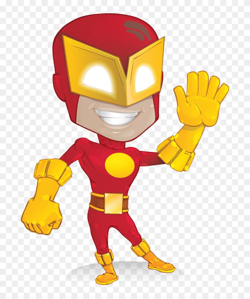 Superheroes And Supervillains Cartoon Vector Clipart - FriendlyStock