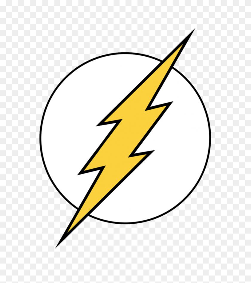 Superheros Symbols - Flash Logo PNG