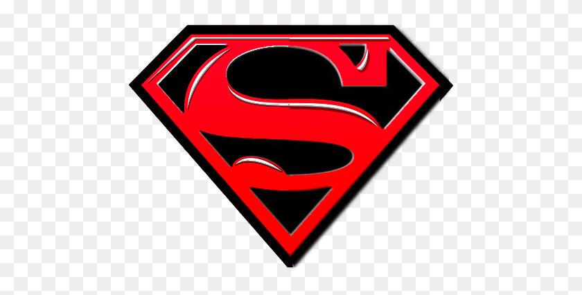 Superman Symbol In Black Superman Superman - Supergirl Logo PNG