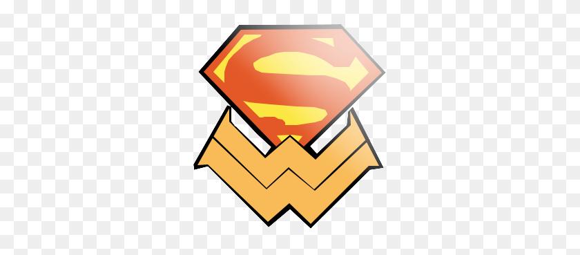 Supermanwonderwoman On Twitter - Wonder Woman Logo Clipart