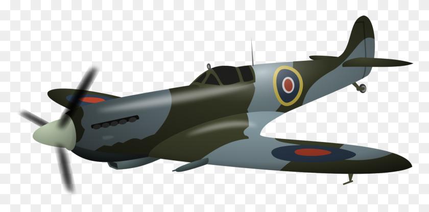 Supermarine Spitfire Airplane Messerschmitt Bf Fighter - Ww2 Clipart