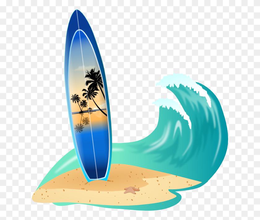 Surfboard Clip Art - Surfboard Clipart