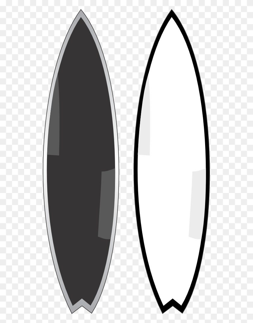 Surfboard Clipart - Surfboard Clipart