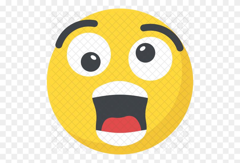 Surprised Emoji Blush Surprised Face Emoji Magnet Inch Round - Suprised Emoji PNG
