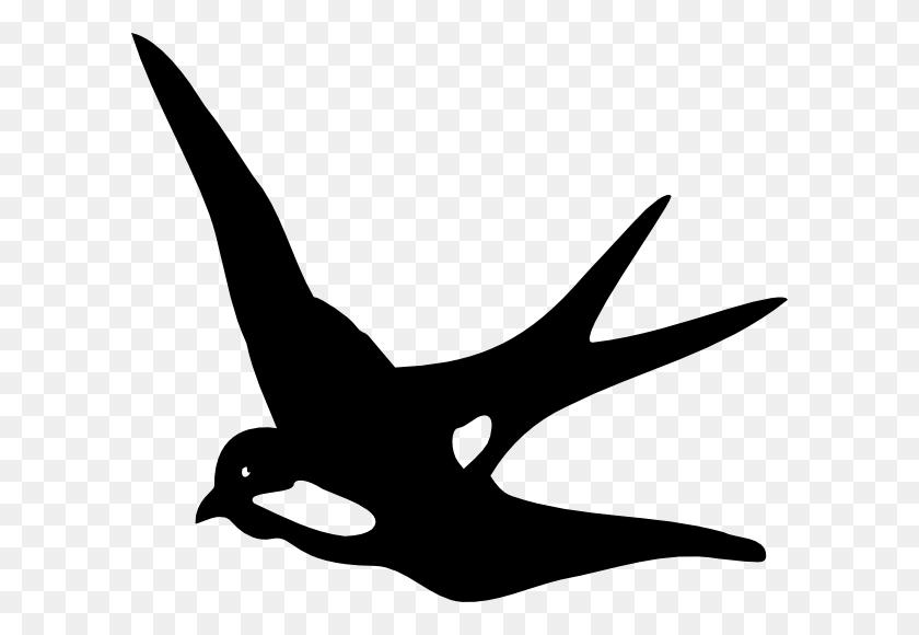 Swallow Clipart Profile - Mockingbird Clipart
