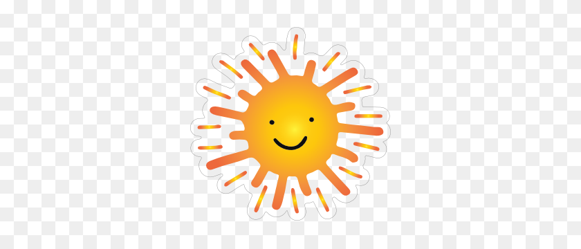 Sweet And Happy Sun Sticker - Happy Sun PNG
