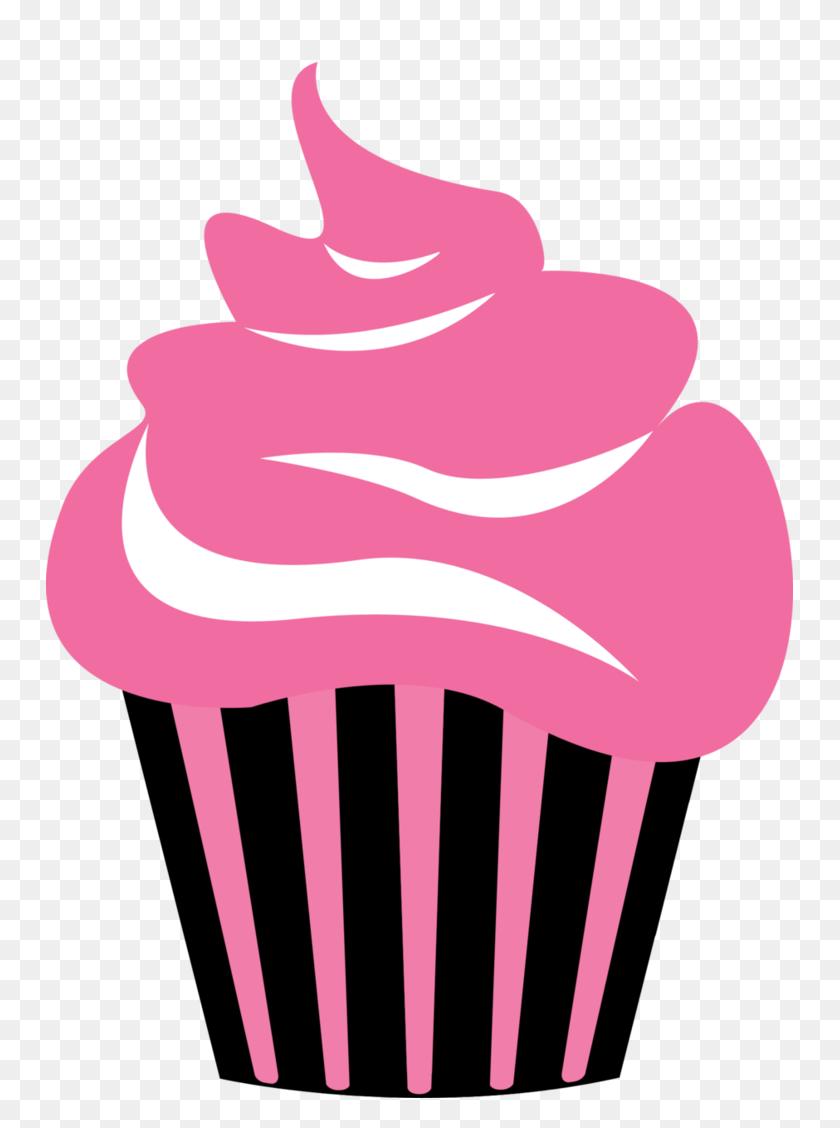 Sweet Savannah Cupcakes Home - Pink Cupcake Clipart