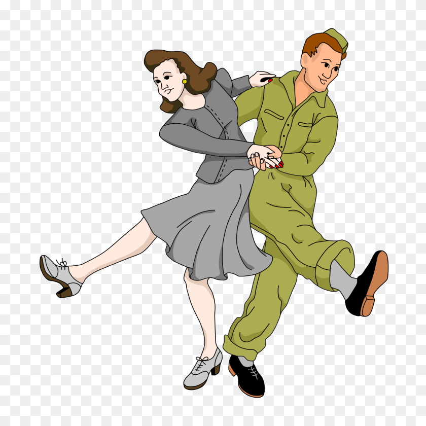 Swing Dancing Cliparts - Swing Dance Clip Art