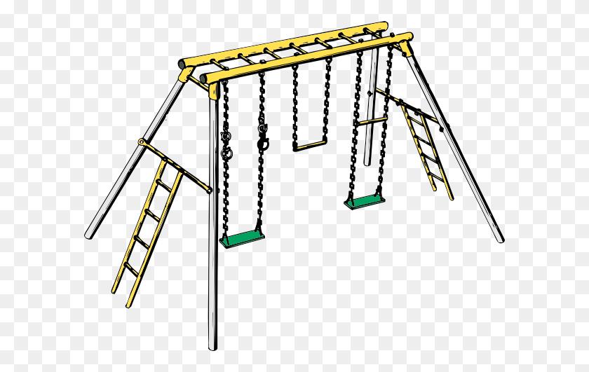 Swinging Monkey Clipart - Monkey Bars Clipart
