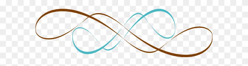 Swirl Borders Decorative Flourishes Retro - Decorative Swirl Clipart