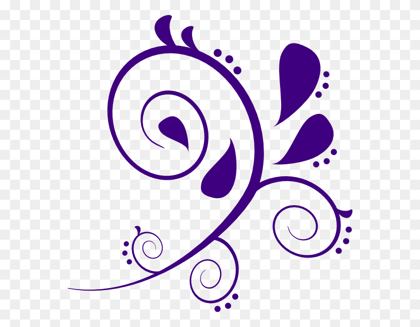 Swirl Designs Clip Art Rotated Swirl Clip Art Filigree - Makeup Clipart
