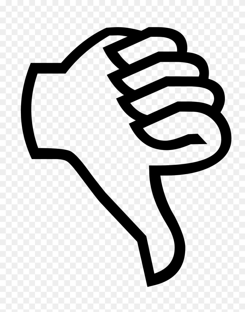 Symbol Thumbs Down - Thumbs Down PNG