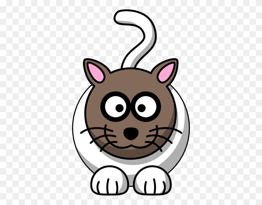 378x598 Tabby Cat Clip Art - Tabby Cat Clipart