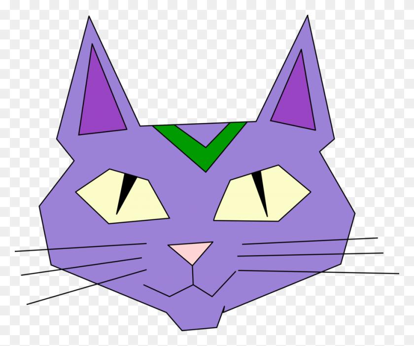 Tabby Cat Kitten Black Cat Whiskers - Kitten Face Clipart