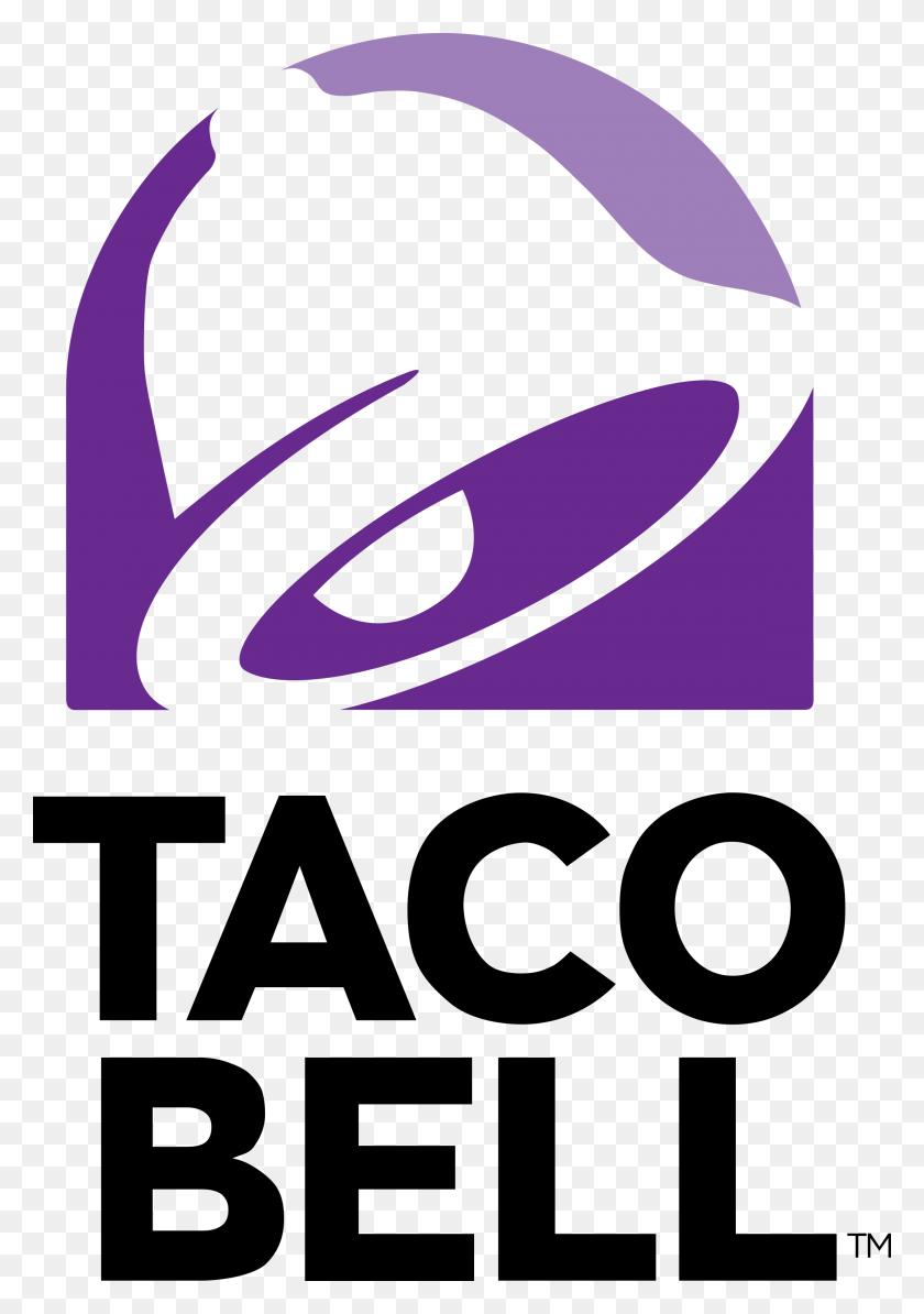 2400x3492 Taco Bell Logo Png Transparent Vector - Taco PNG