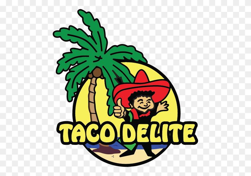 487x532 Taco Delite - Tacos PNG