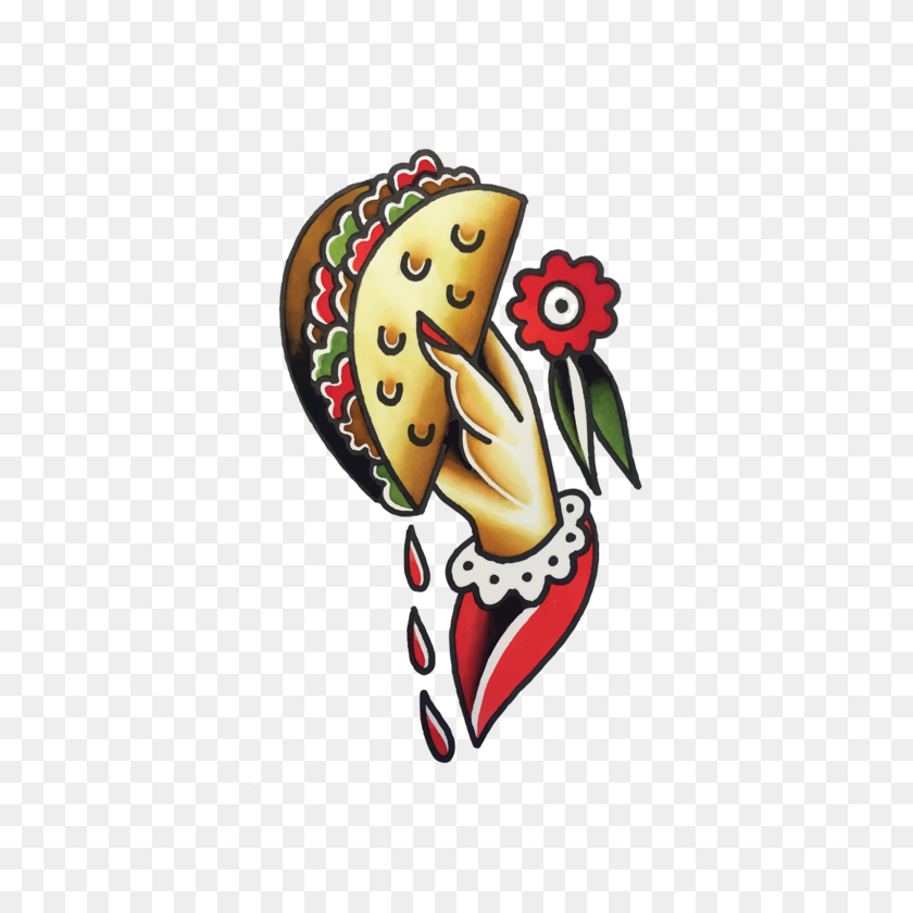 2048x2048 Taco To Go - Taco Clipart PNG