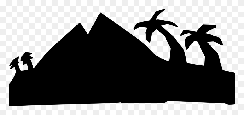 1734x750 Tag Mountain Computer Icons Black And White - Mountain Clipart Black And White