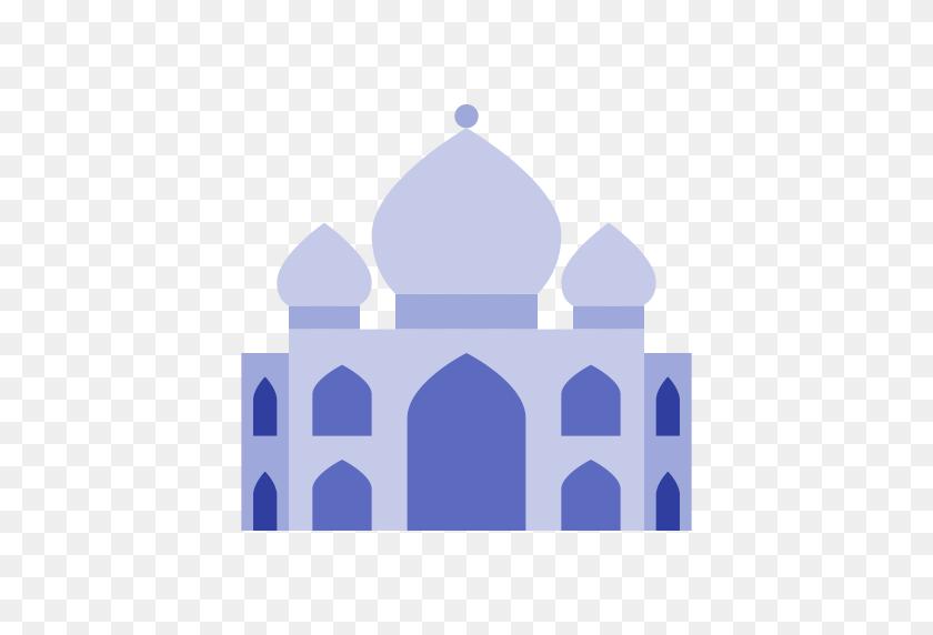 512x512 Taj Mahal, Travel, Building Icon With Png And Vector Format - Taj Mahal PNG