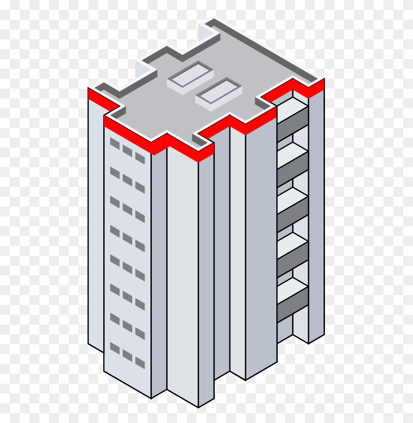 Tall Building Clip Art - Tall Building Clipart