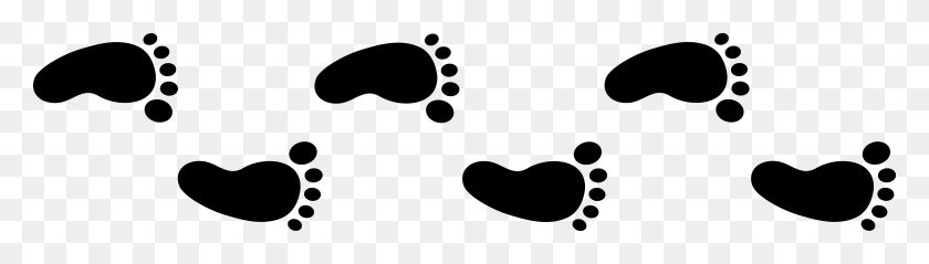 Tan Foot Cliparts - Pathway Clipart
