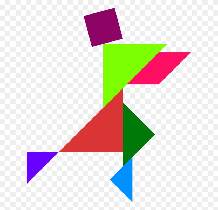 Tangram Puzzle Game Crossword Triangle Crossword Clipart