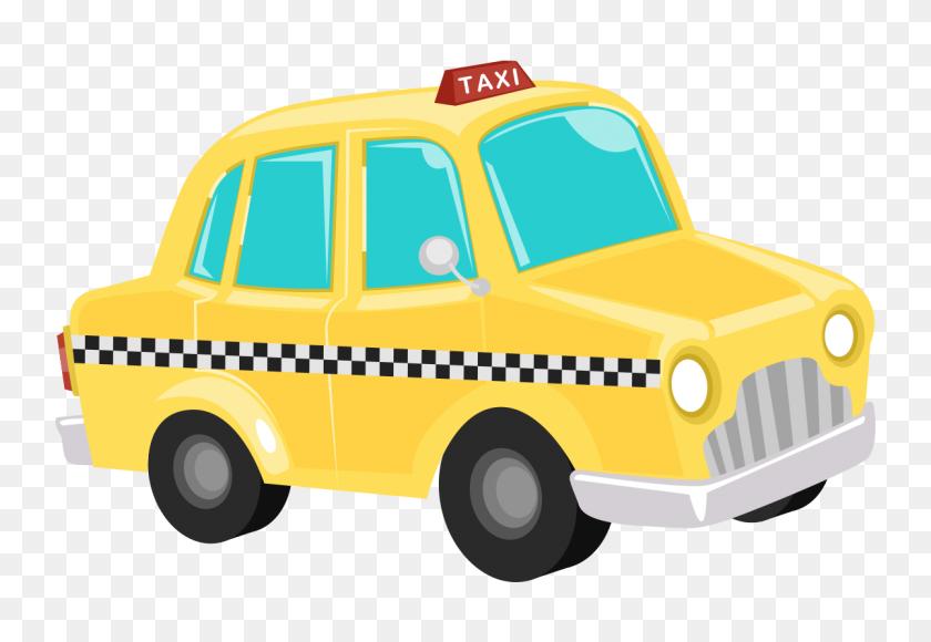 1200x800 Taxi Cab Clipart - Free Classic Car Clipart