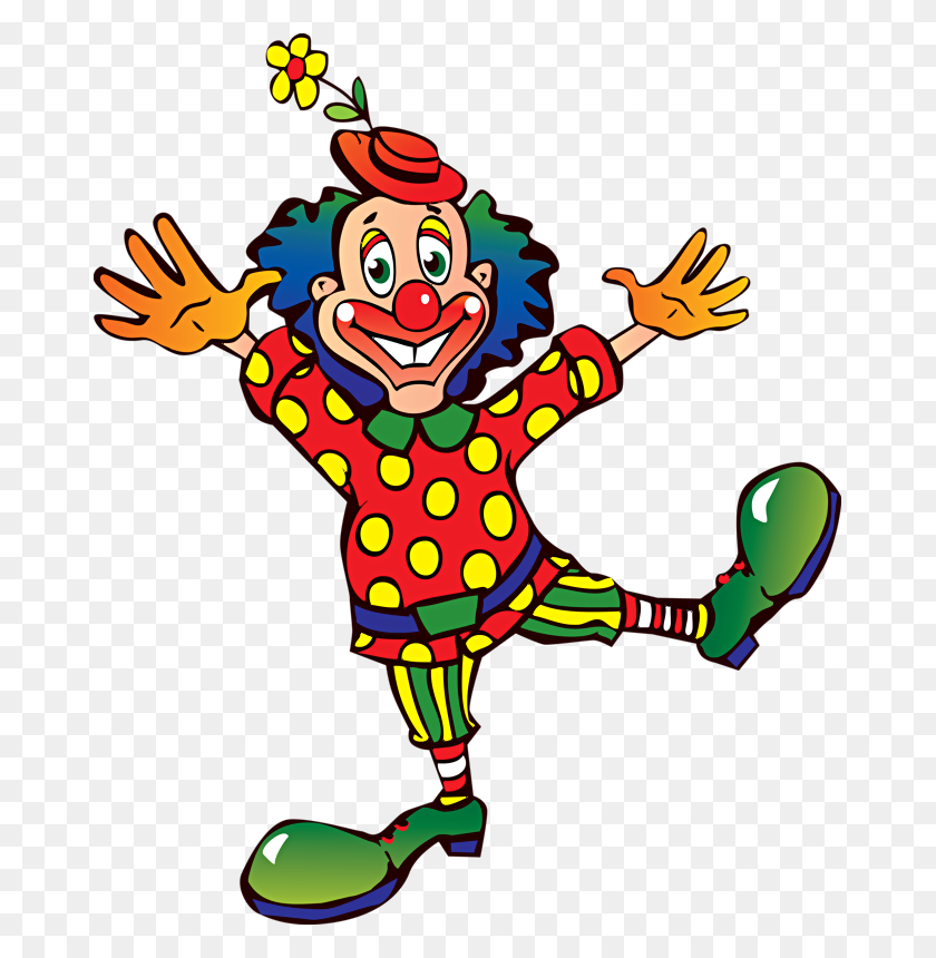 Tcirk Clowns Clown Paintings, Cartoon And Clown Images - Scary Clown Clipart