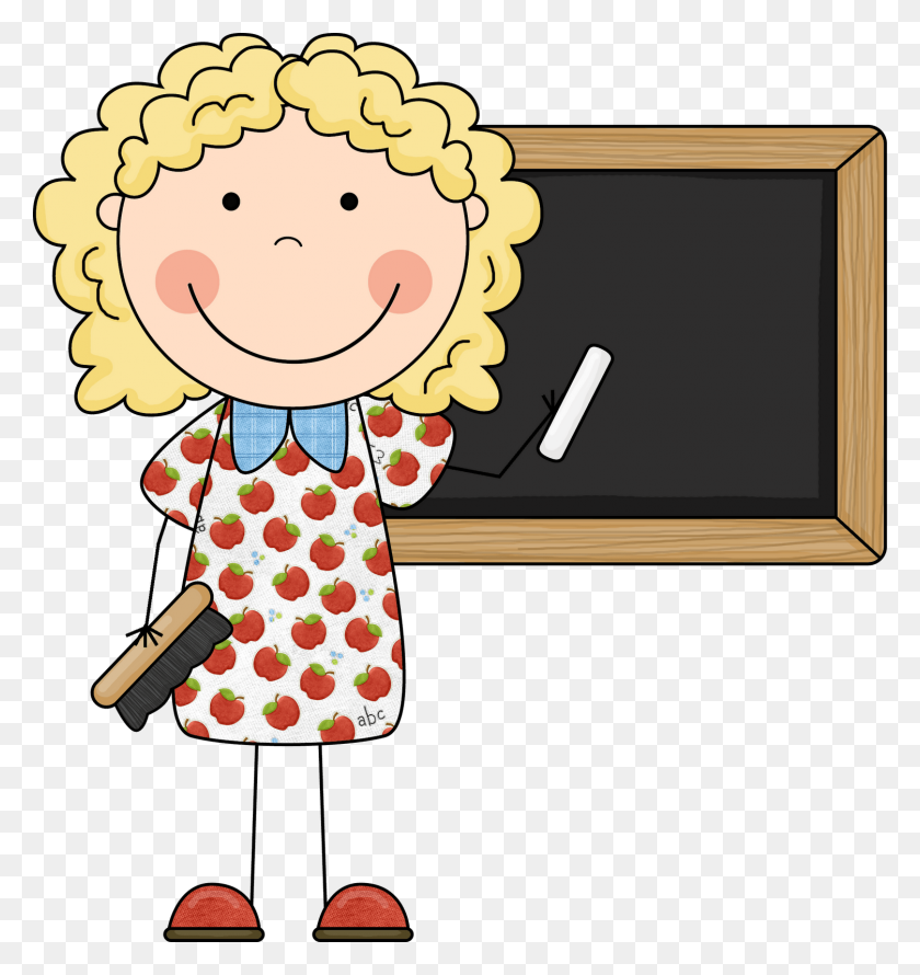 Teacher Clip Art - Girls Playing Clipart