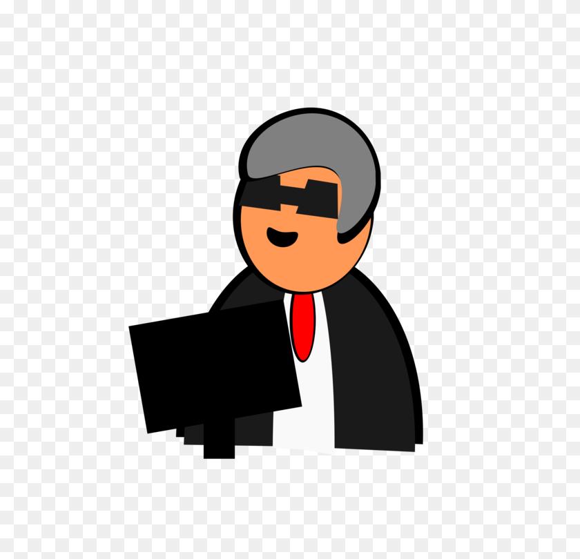 Teacher Professor Computer Icons Animaatio Black And White Free - Professor Clipart