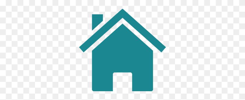 Teal Clipart House - Row Of Houses Clipart