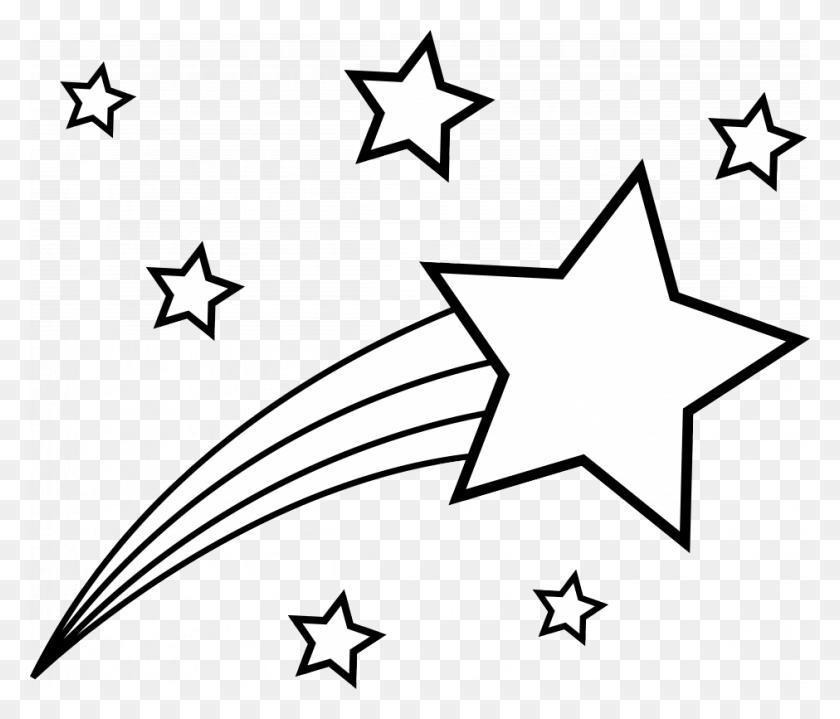 Techflourish Black Star Png Monochrome Pretty - Black Stars PNG
