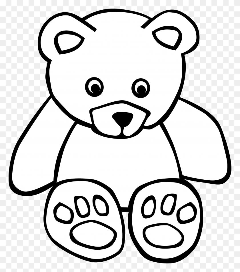 Teddy Bear Clip Art - Panda Bear Clipart