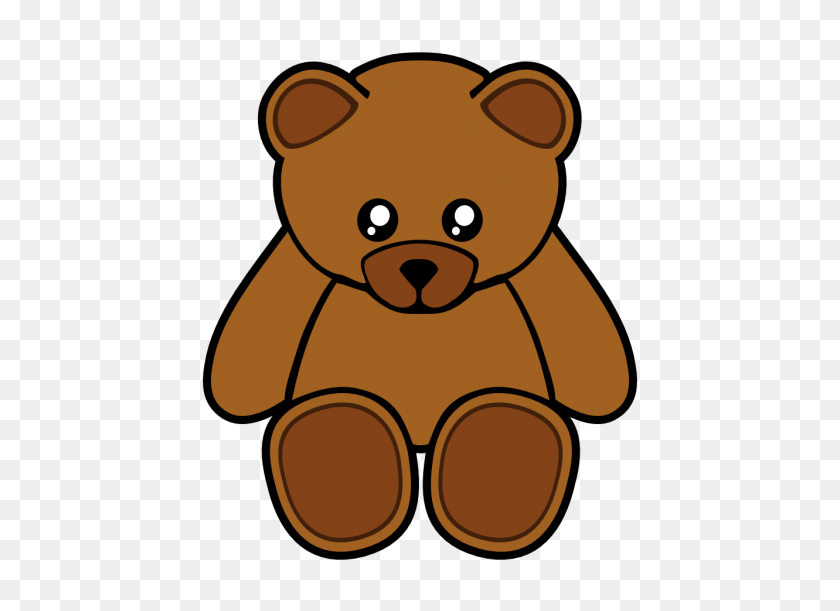 Teddy Bear Clip Art Clip Arts Teddy Bear - Woodland Bear Clipart
