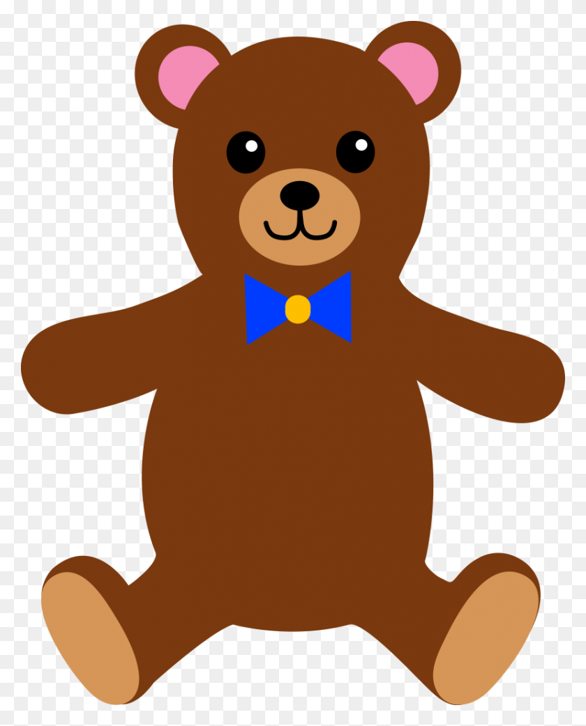 830x1046 Teddy Bear Outline Clipart Free Images - Bear Outline Clipart