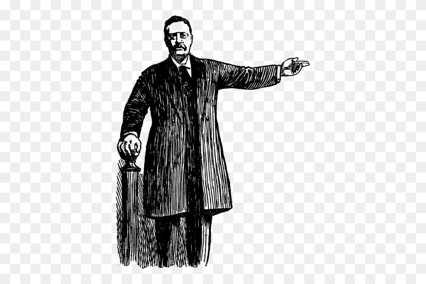 Teddy Roosevelt Drawing - Teddy Roosevelt Clipart