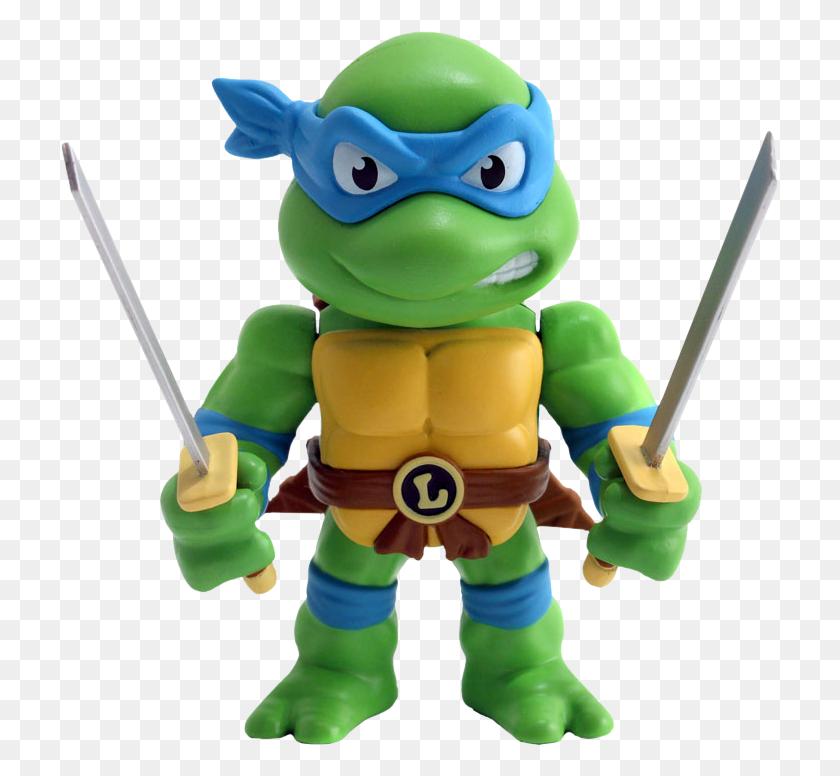 Teenage Mutant Ninja Turtles Leonardo Die Cast Action Figure