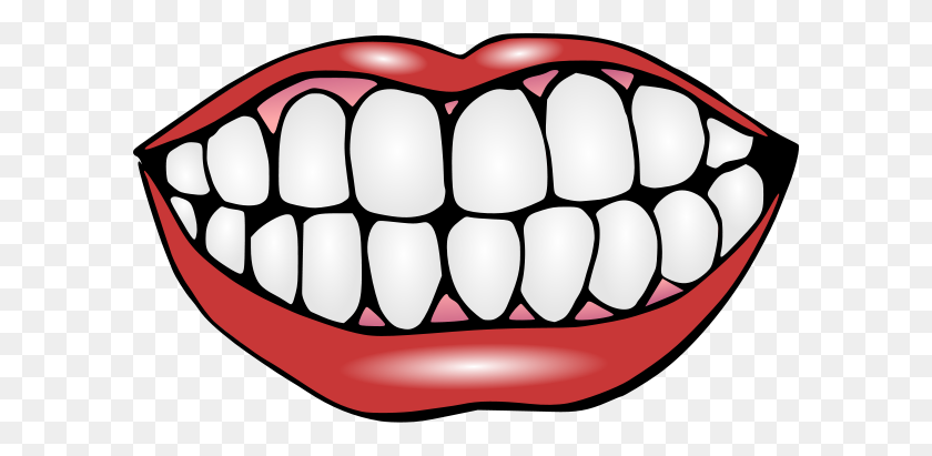 600x351 Teeth Clipart Monster Mouth - Monster Eyes Clipart