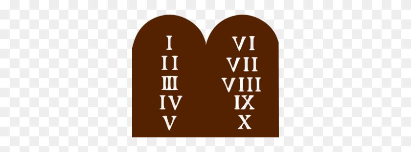 Ten Commandments Clip Art - Ten Clipart