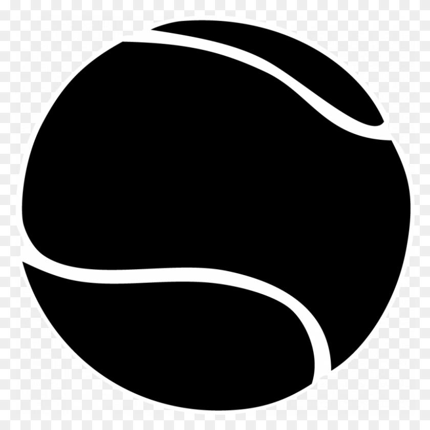 Tennis Ball Clipart Black And White Sports Tennis - Play Tennis Clipart