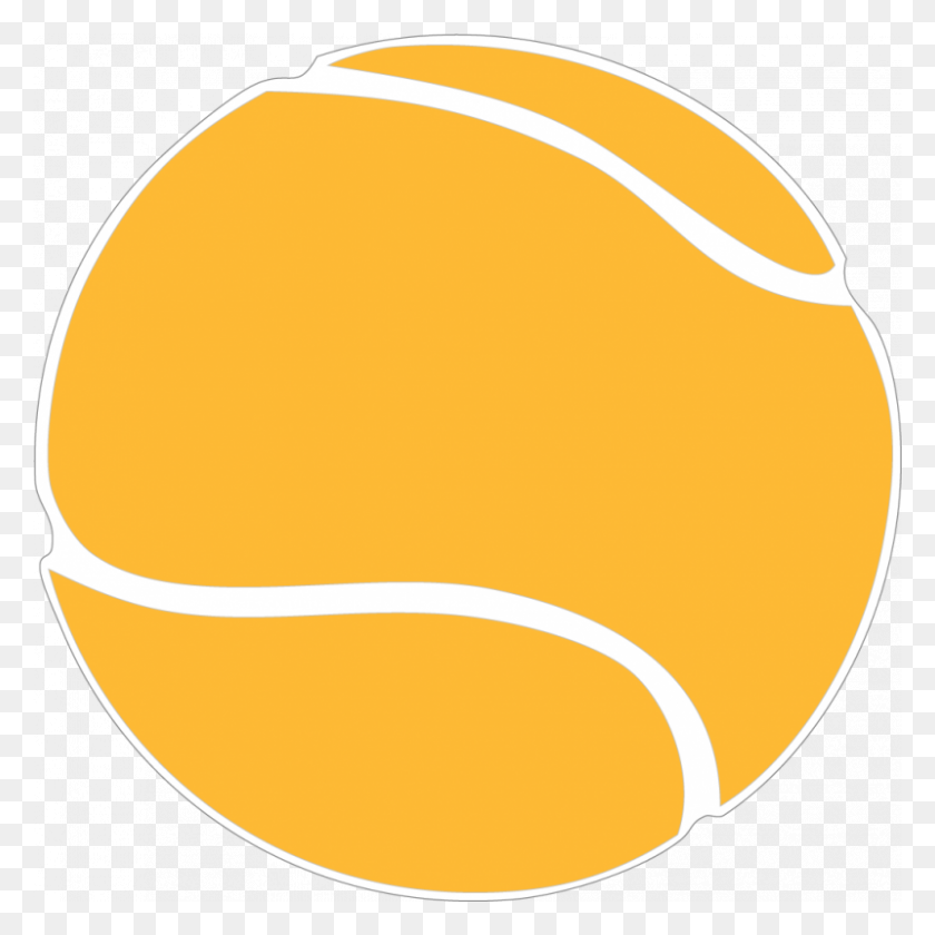 800x800 Tennis Balls Racket Clip Art Free Tennis Images Png Download - Tennis Ball PNG