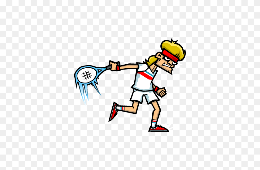 Tennis In The Face For Nintendo Switch - Wii Bowling Clipart