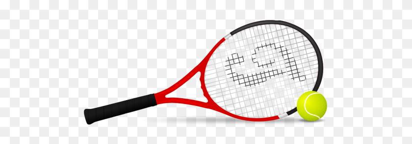 Tennis Racket And Ball Vector Clip Art - Tennis Racket And Ball Clipart