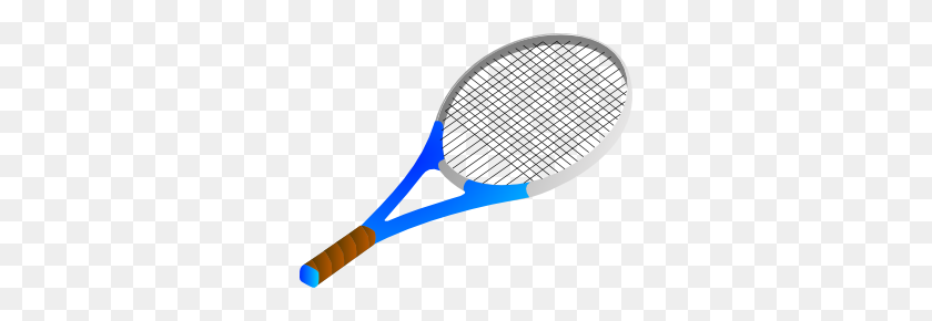 300x230 Tennis Racket Clip Art - Table Tennis Clipart