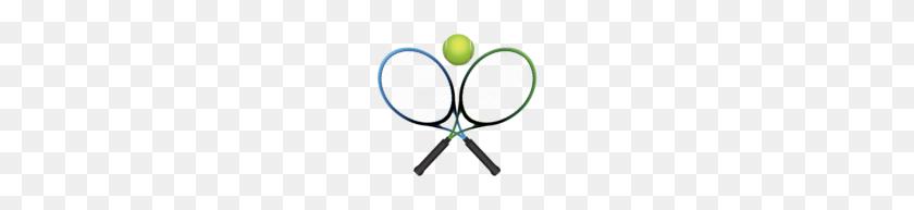 Tennis Rackets And Ball Png Clipart Clip Art - Tennis Net Clipart