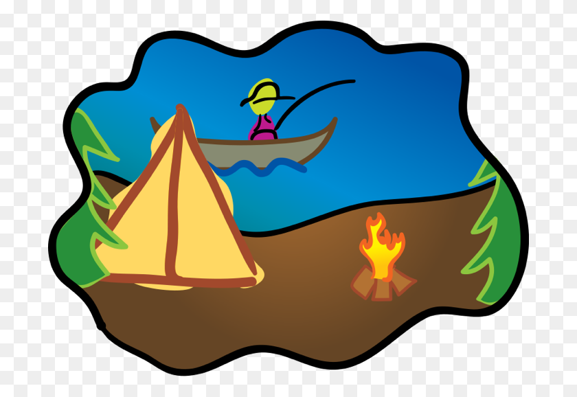 Tent Clipart Great Outdoors - Camping Tent Clipart