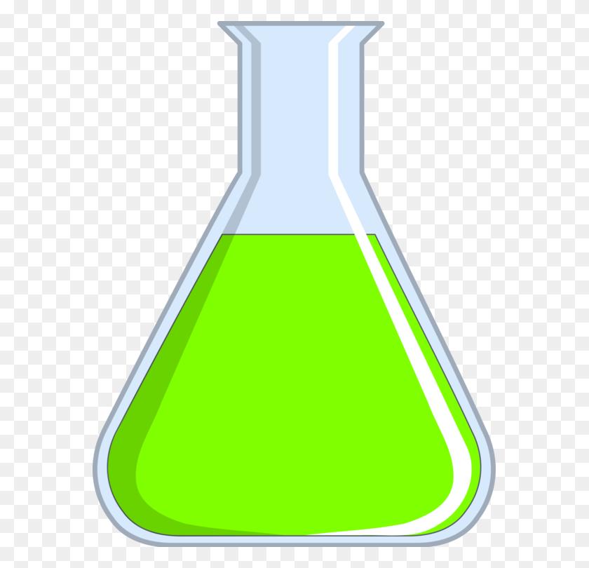 Test Tubes Laboratory Flasks Beaker - Science Beaker Clip Art